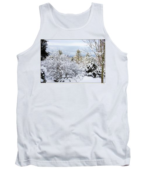 Saratoga Winter Scene Tank Top