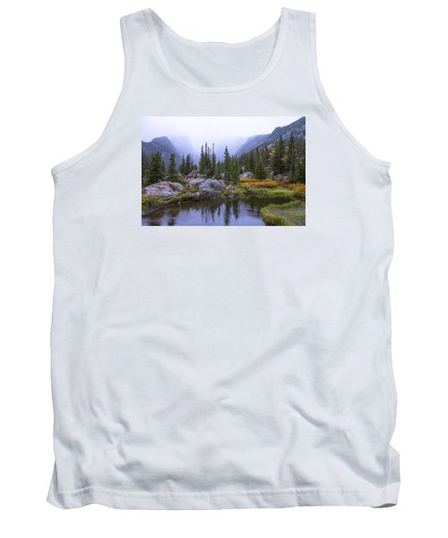 Saturated Forest Tank Top by Chad Dutson