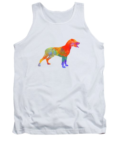 Save Valley Scentrhound In Watercolor Tank Top