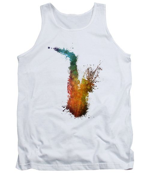 Sax And Sex Saxophone Tank Top