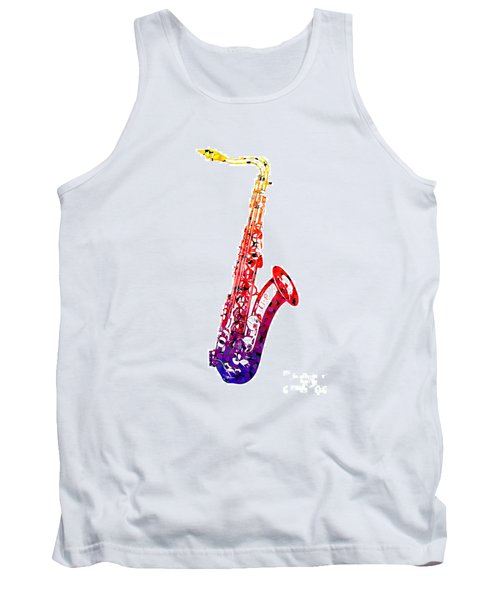 Sax Tank Top by Roger Lighterness