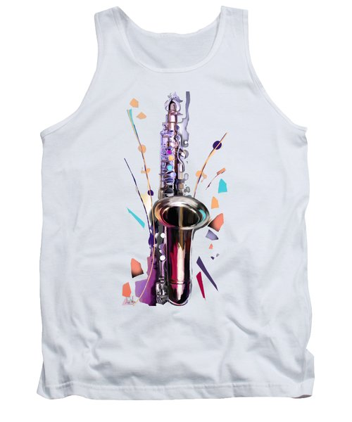 Saxophone Tank Top