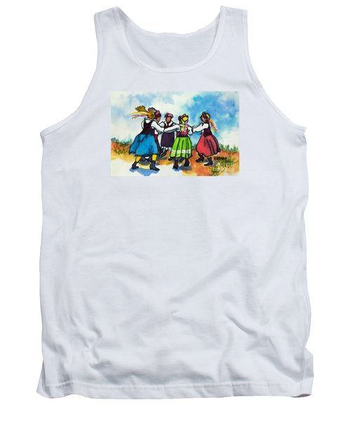 Scandinavian Dancers Tank Top