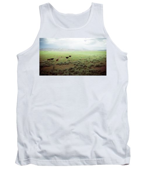 Scared Up Tank Top