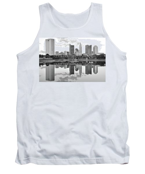 Tank Top featuring the photograph Scarlet And Columbus Gray by Frozen in Time Fine Art Photography