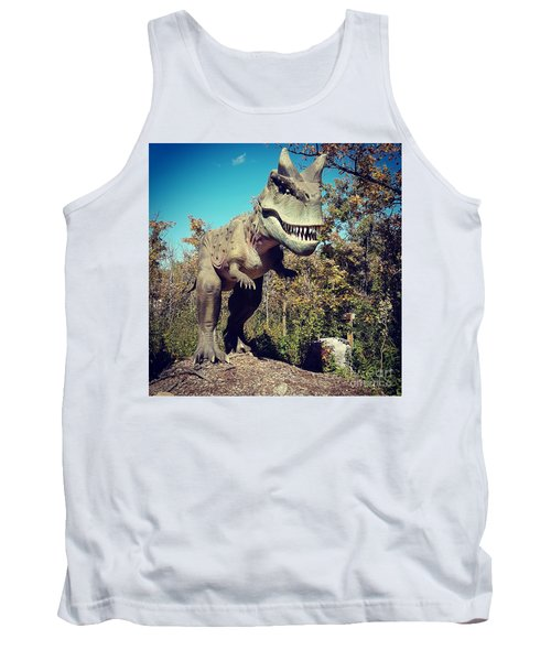 Scary Carnotaurus Tank Top