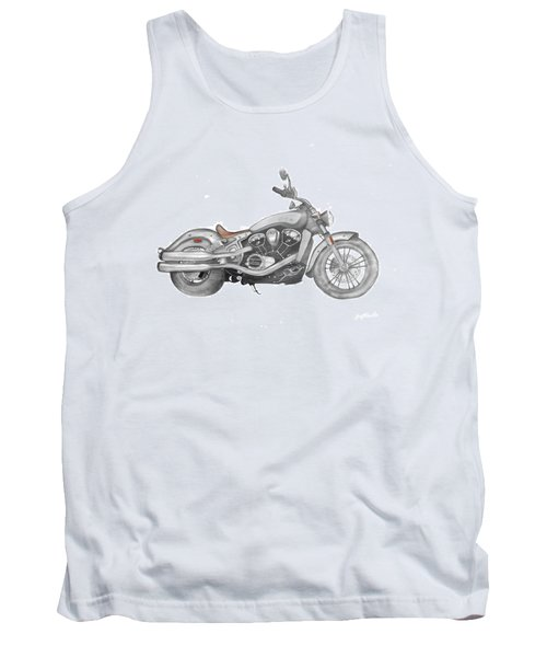 Tank Top featuring the drawing Scout 2015 by Terry Frederick