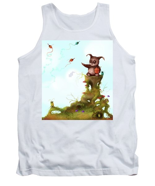 Scrumpy And The Phizz Poppers  Tank Top
