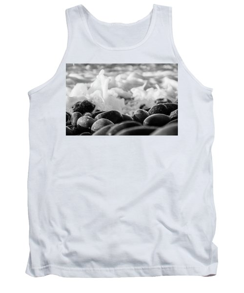 Sea Foam B-w Tank Top