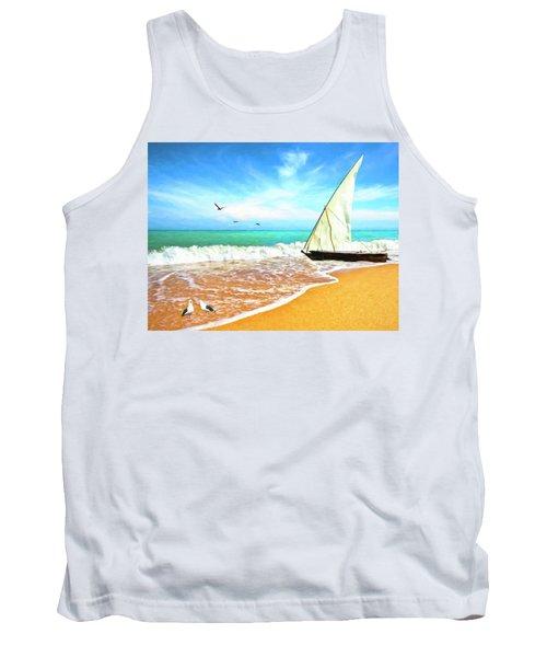Sea Shore Tank Top