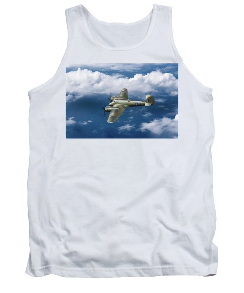 Tank Top featuring the photograph Seac Beaufighter by Gary Eason