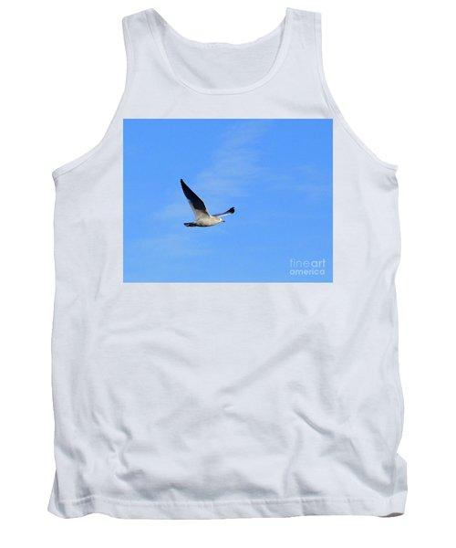Seagull In Flight Tank Top