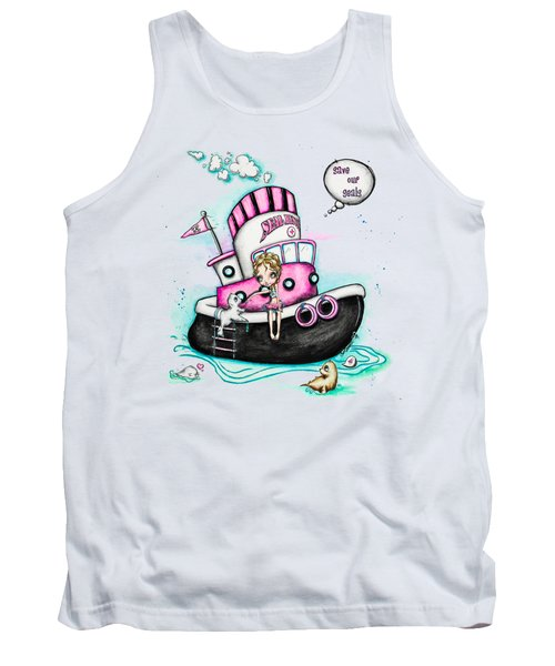 Seal Love Tank Top