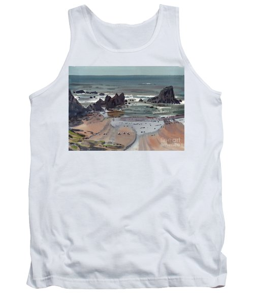 Seal Rock Oregon Tank Top by Donald Maier