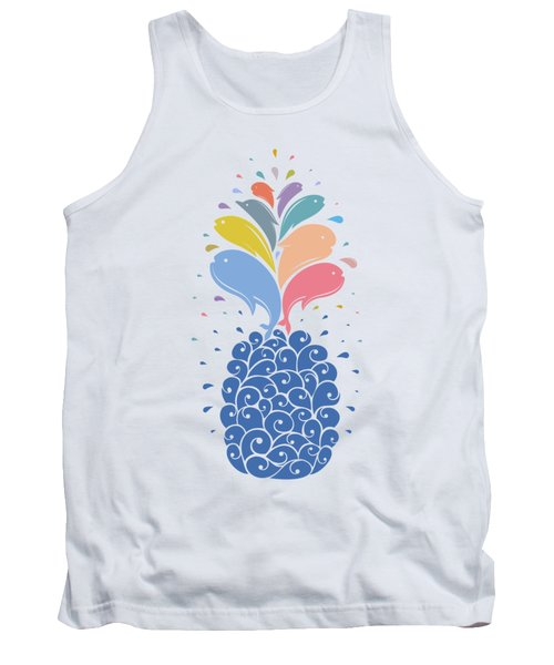 Seapple Tank Top by Mustafa Akgul