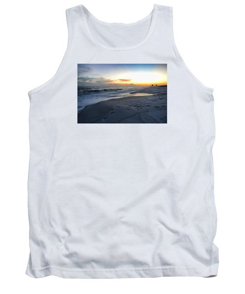 Tank Top featuring the photograph Seaside Sunset by Renee Hardison
