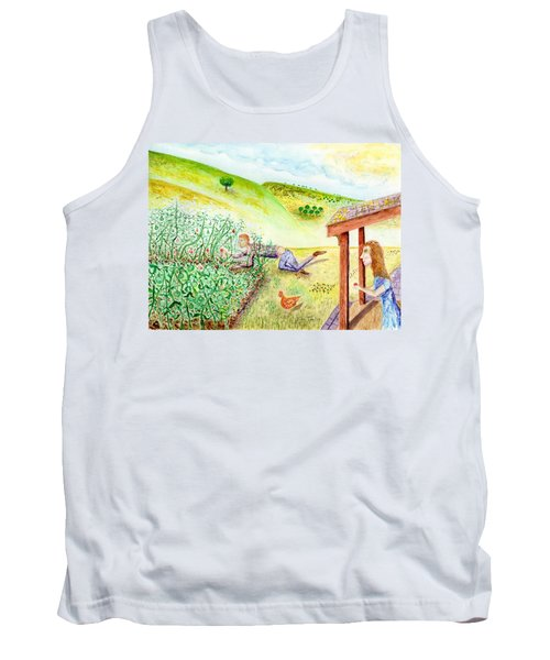 Seasons First Tomatoes Tank Top