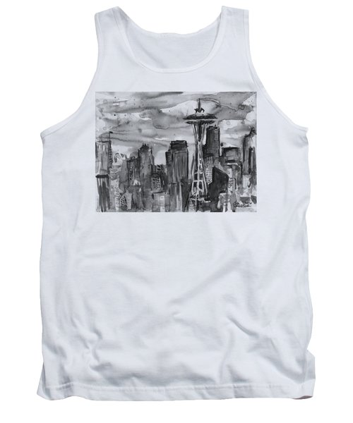 Seattle Skyline Space Needle Tank Top