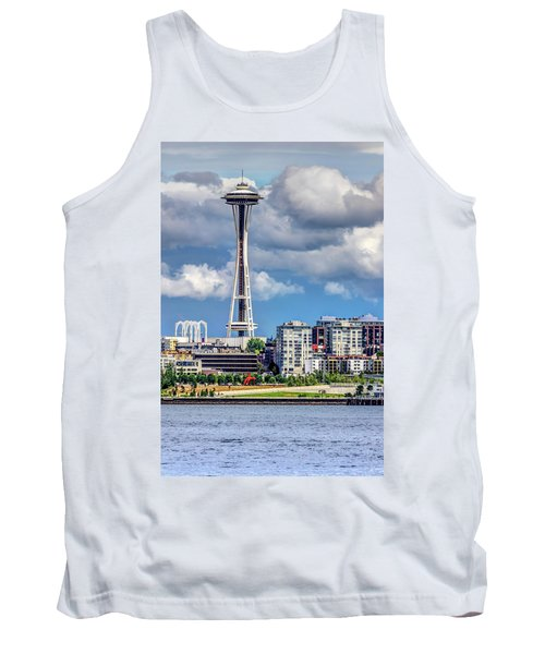 Seattle Space Needle Hdr Tank Top