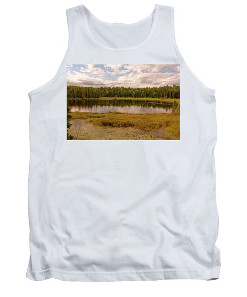 Secluded Lake Tank Top