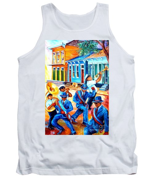 Second Line In Treme Tank Top