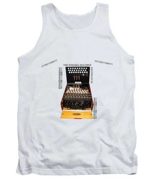 Secret Messages  Tank Top by Tom Conway