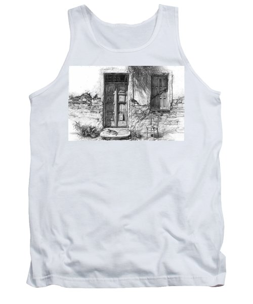 Secret Of The Closed Doors Tank Top
