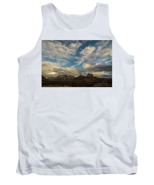 Sedona Arizona Redrock Country Landscape Fx1 Tank Top by David Haskett
