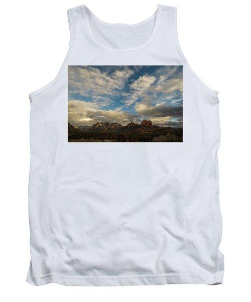 Tank Top featuring the photograph Sedona Arizona Redrock Country Landscape Fx1 by David Haskett
