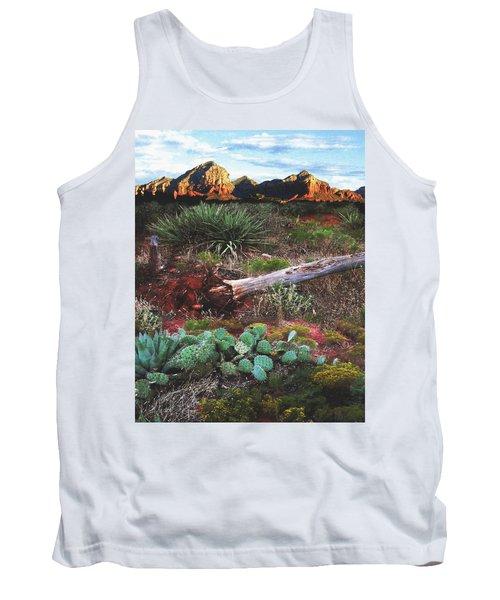 Sedona Mountain Sunrise Tank Top
