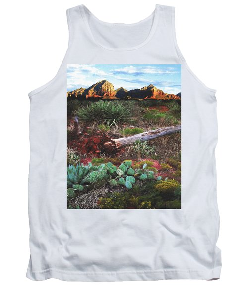 Sedona Mountain Sunrise Tank Top