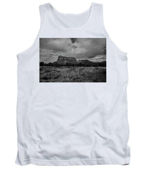 Sedona Red Rock Country Arizona Bnw 0177 Tank Top by David Haskett