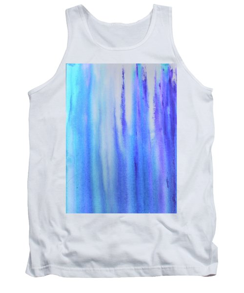 See Blue Sea Tank Top by Cyrionna The Cyerial Artist