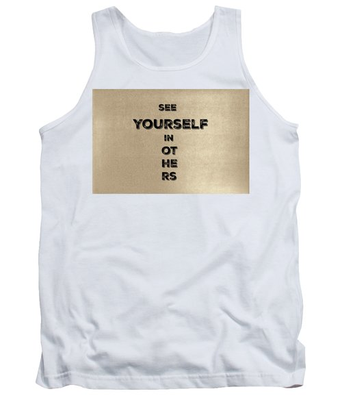 See Yourself #1 Tank Top