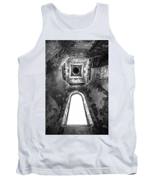 Tank Top featuring the photograph Seeing From With In by Terry Cosgrave
