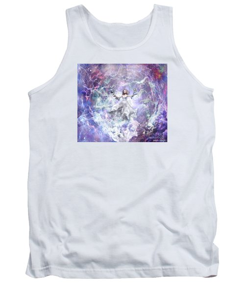 Tank Top featuring the digital art Seek And You Shall Find by Dolores Develde