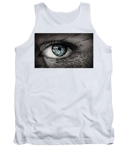 Seek The Truth Tank Top by David Norman