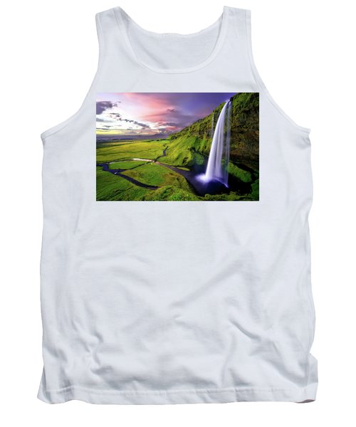 Seljalandsfoss Waterfall Tank Top