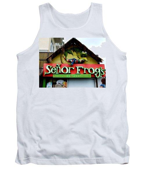 Senor Frogs Tank Top
