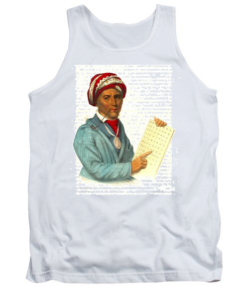 Tank Top featuring the photograph Sequoyah 1838 by Padre Art