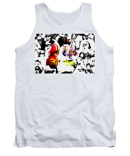 Serena Williams 2f Tank Top by Brian Reaves