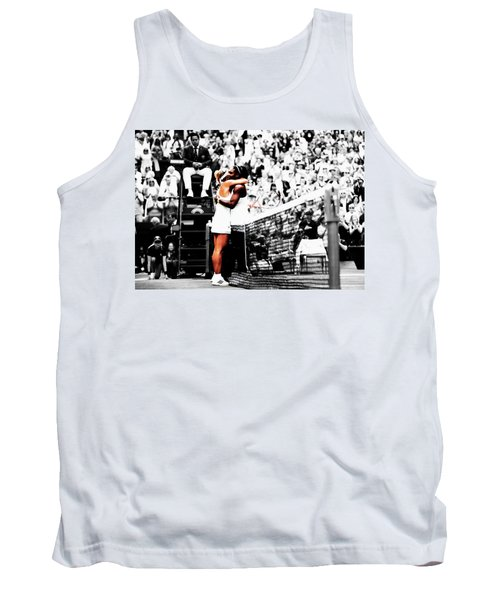 Serena Williams And Angelique Kerber 1a Tank Top by Brian Reaves