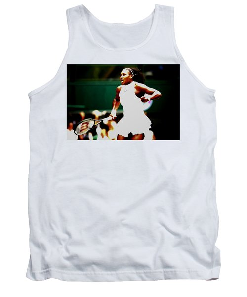 Serena Williams Making History Tank Top by Brian Reaves