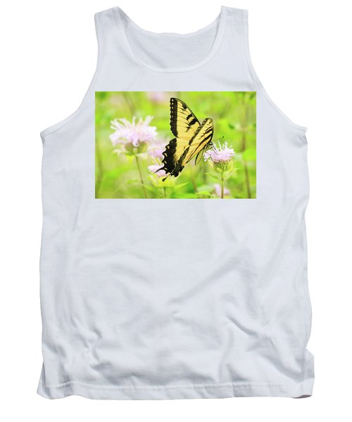 Series Of Yellow Swallowtail #4 Of 6 Tank Top