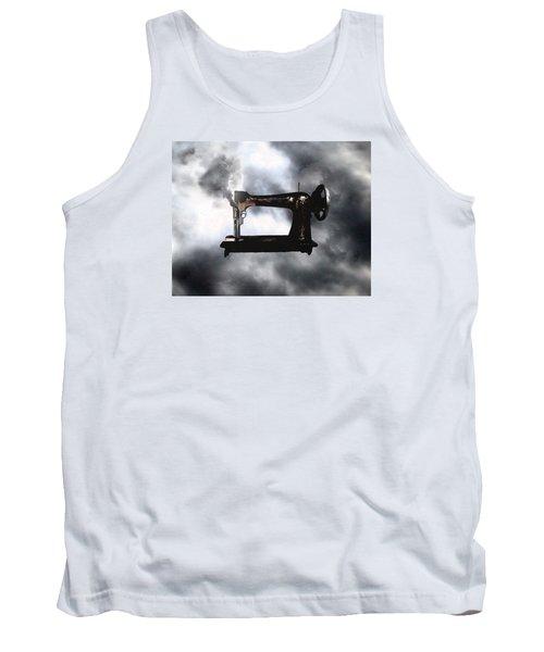 Sewing Gun Tank Top