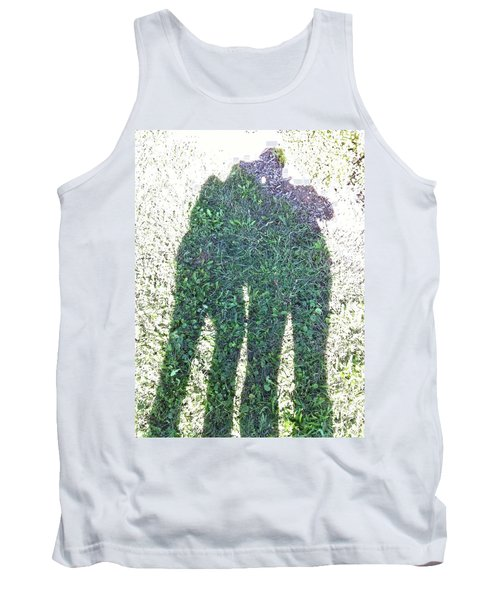 Tank Top featuring the photograph Shadow In The Meadow by Wilhelm Hufnagl