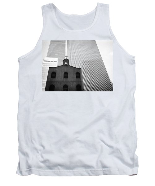 Shadow Of World Trade Center Tank Top