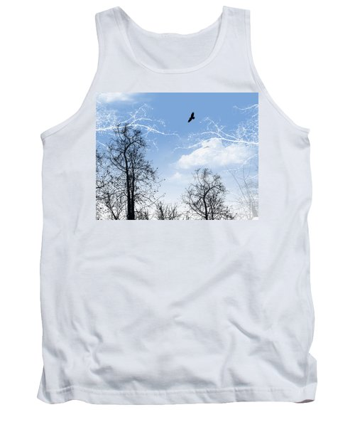 Tank Top featuring the painting Shadow by Trilby Cole