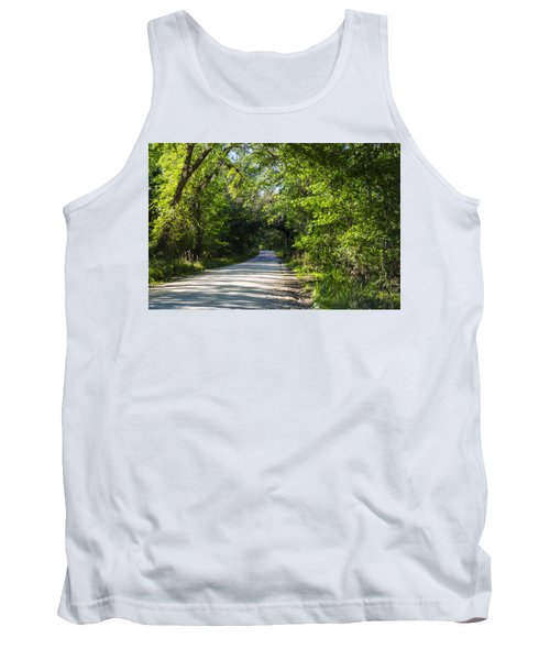 Shady Lane In Ocklawaha Tank Top