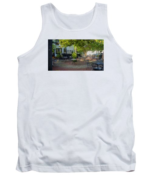 Shady Outdoor Dining Tank Top